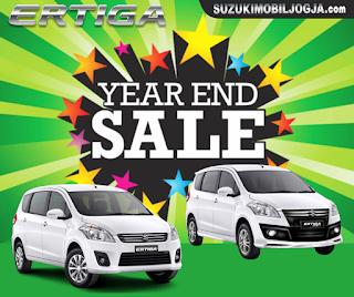 Promo Akhir Tahun Suzuki ERTIGA di Jogja