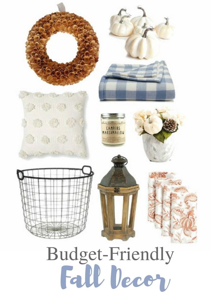budget-friendly fall decor