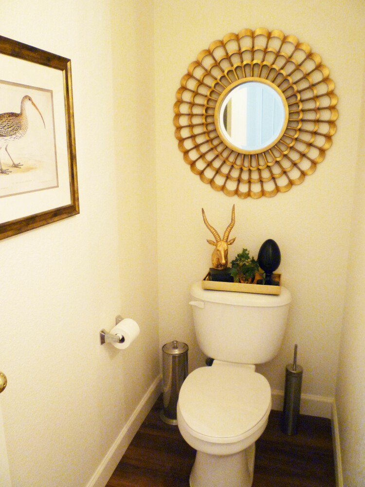 A Stroll Thru Life: Our Little Powder Room