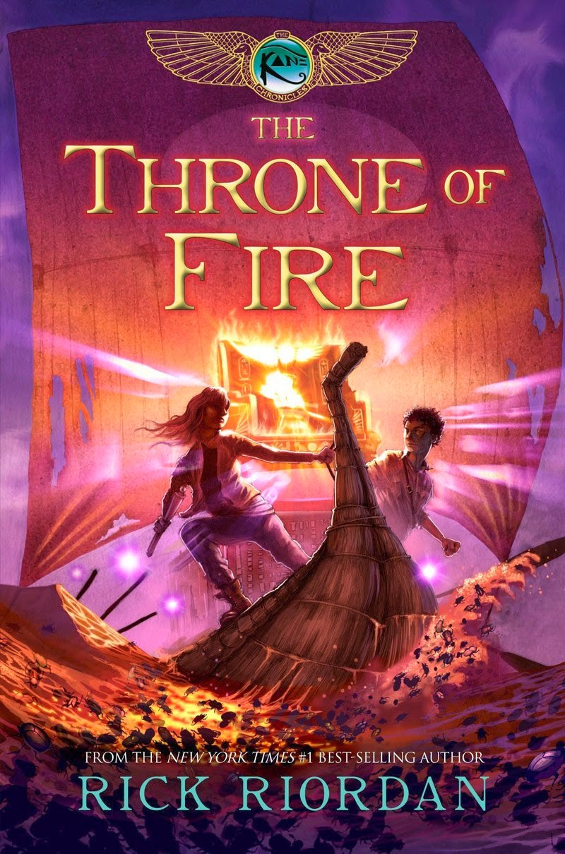 A Fort Made of Books: The Throne of Fire