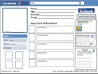 Facebook Info Page Template Facebook friend profile by