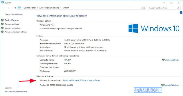 Tutorial Cara Aktivasi Windows 8,8.1 Dan Windows 10 32Bit 64Bit Secara Permanent All Version 2018