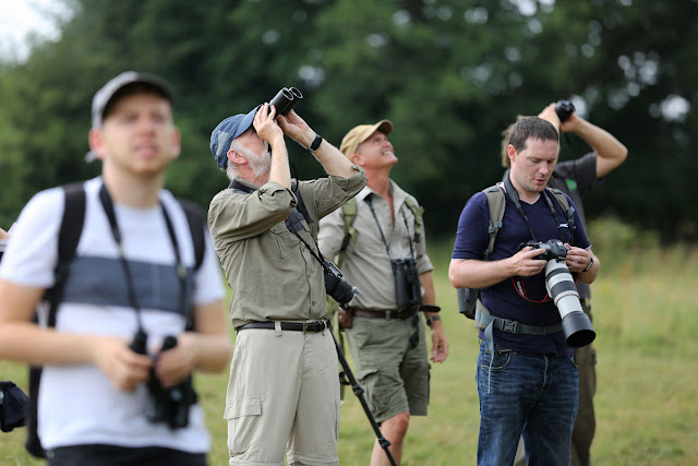 Park camera events - nature walk with Zeiss and Simon King