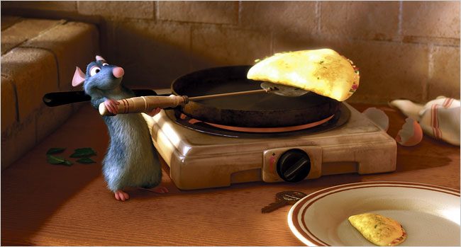 Ratatouille Remy Cooking The Good, The Bad and ...