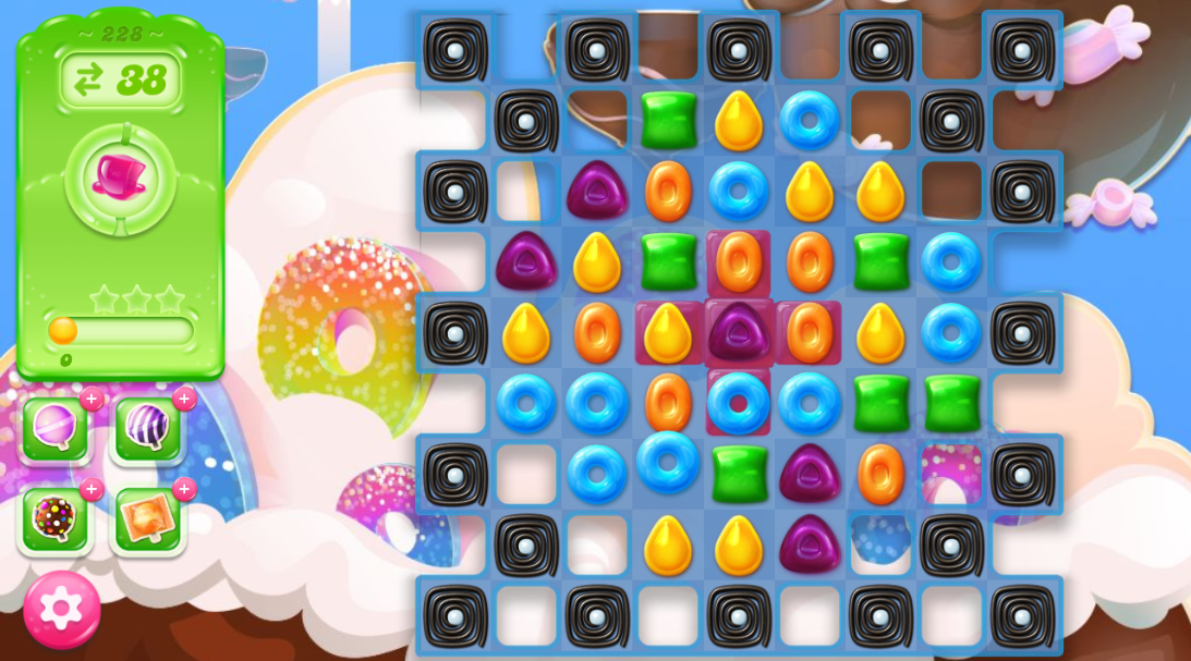 Candy Crush Jelly Saga 228