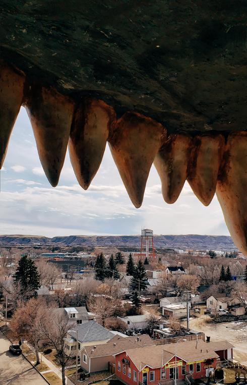 Worlds Largest Dinosaur Drumheller Alberta
