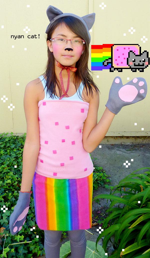 Nyan cat costume diy