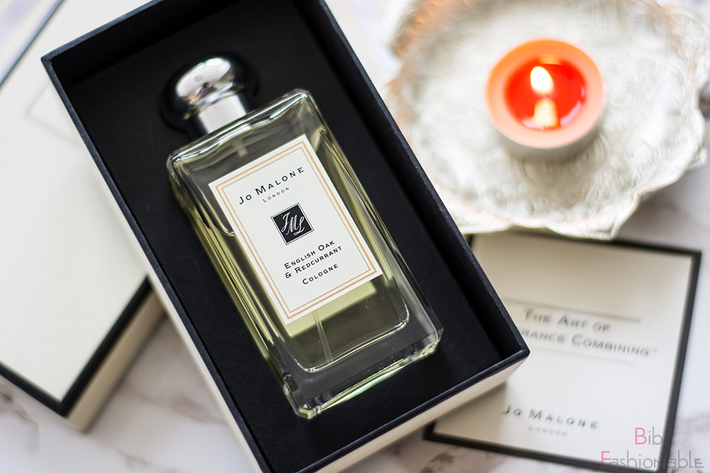 Jo Malone English Oak Redcurrant offene Verpackung