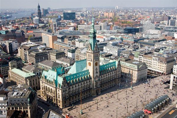 مدينة هامبورغ الالمانية