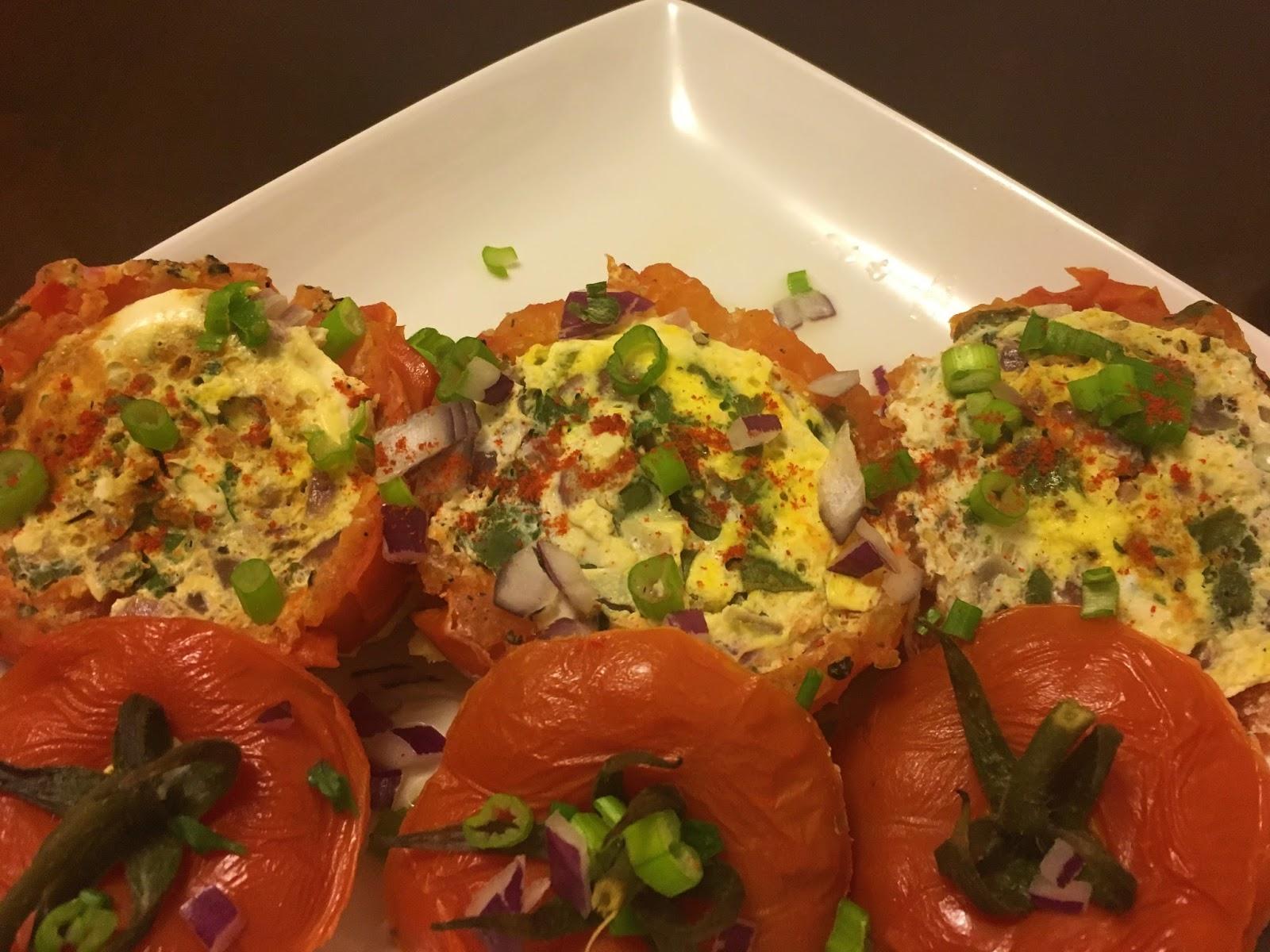 Image result for egg omelet in tomato