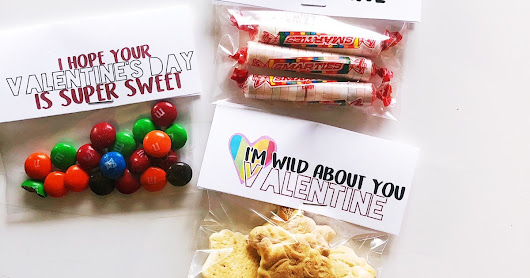 DIY Valentine treats and FREE printables!