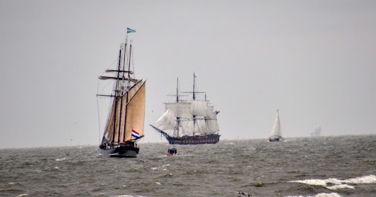 Tall Ships Galveston Parade of Sail