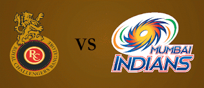 RCB vs MI Match 12 IPL 2017