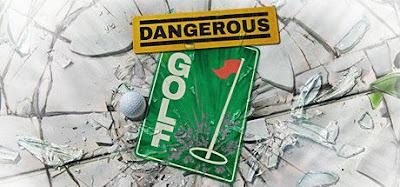 صورة  لتجربة العبة جولف خطير في جهاز الحاسوب