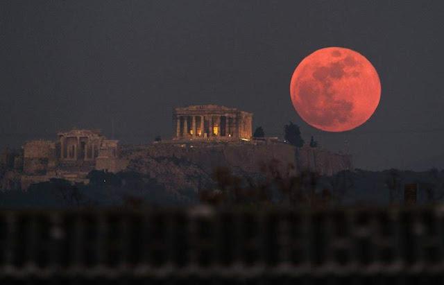 Proses Terjadinya Gerhana Bulan Beserta Jenis-jenisnya dan Dampaknya