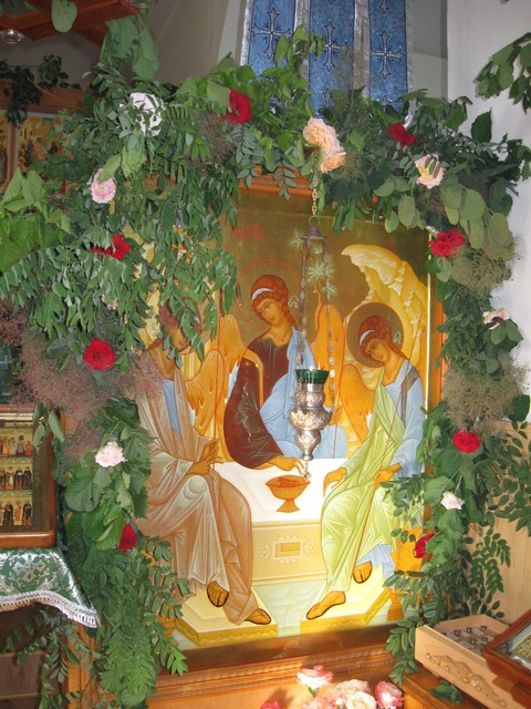 Праздник Святой Троицы в Одесском Свято-Иоанновском монастыре. ФОТО