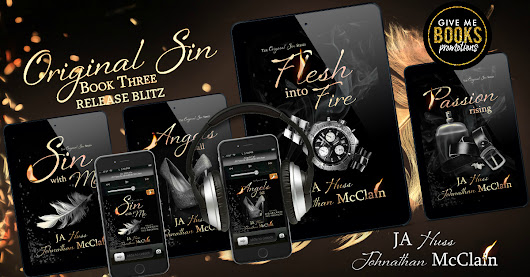 RELEASE DAY BLITZ - FLESH INTO FIRE BY JA HUSS & JOHNATHAN MCLAIN