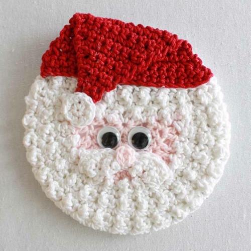 Papa Noel de Crochet paso a paso