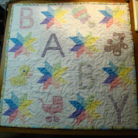 Starflower Baby Quilt