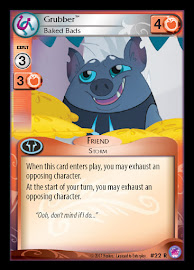 My Little Pony Grubber, Baked Bads Seaquestria and Beyond CCG Card