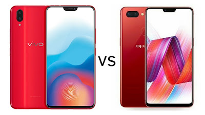 Vivo X21 vs OPPO R15 Dream Mirror Edition
