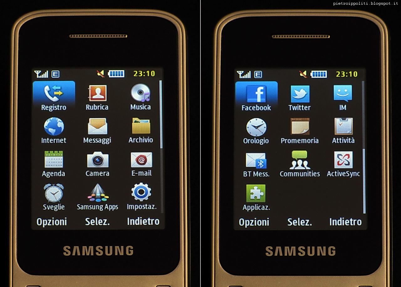 Samsung GT-C3520, applicazioni