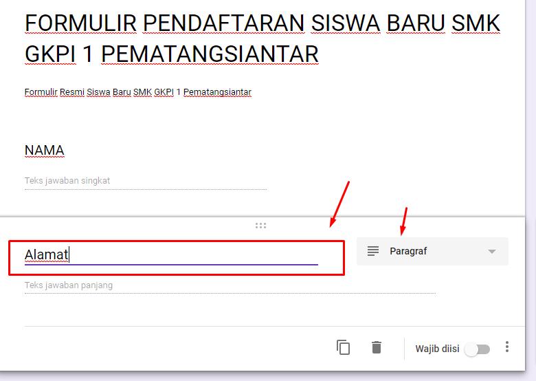 Cara Membuat Pendaftaran Online dengan Google Form ...