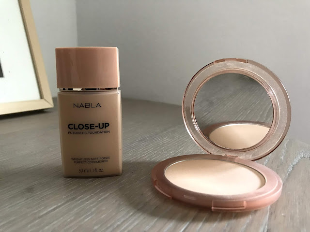 Review: Nabla Cosmetics Close-Up Futuristic Foundation + Close Up Smoothing Pressed Powder