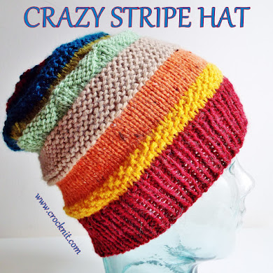 CRAZY STRIPE HAT