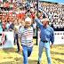 Insfrán en los festejos por el 68 aniversario del Club Defensores de Formosa