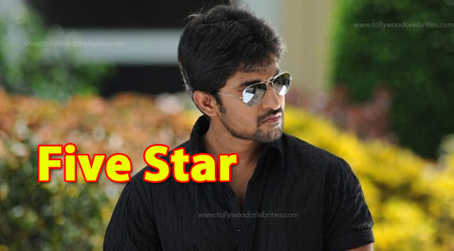 Actor Nani turns Five Star
