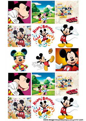 Stickers para imprimir de mickey mouse