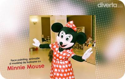 Surprize cu Minnie Mouse la Diverta