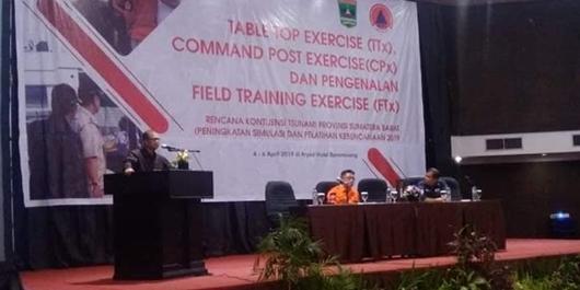 Wagub Nasrul Abit: Pelatihan Kebencanaan Bentuk Keseriusan Pemerintah