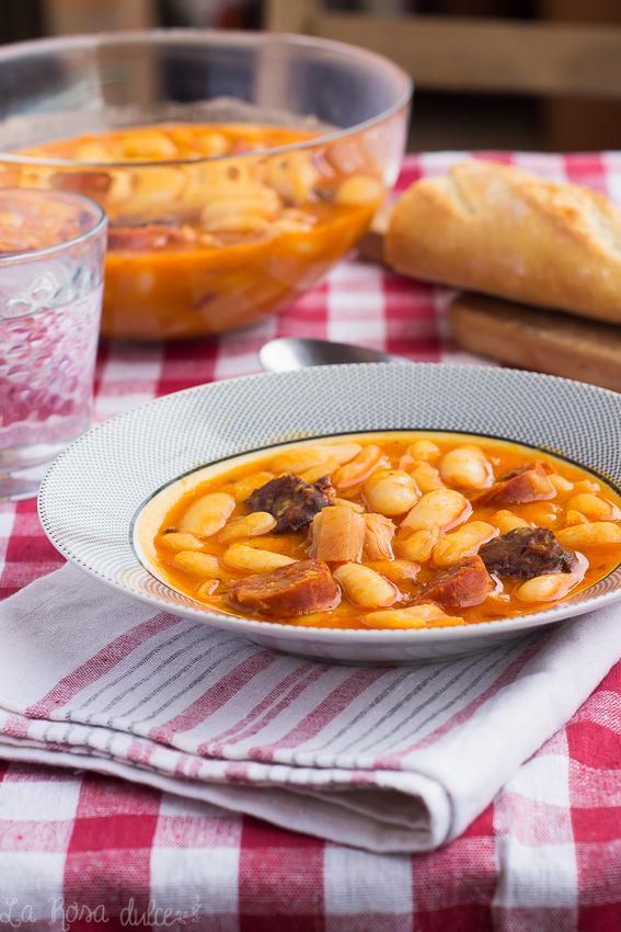 Fabada asturiana #ollaexpres