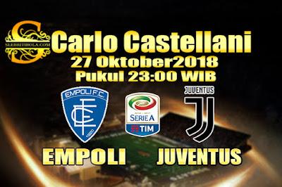 Judi Bola Dan Casino Online - Prediksi Pertandingan Serie A Italia Empoli Vs Juventus 27 Oktober 2018