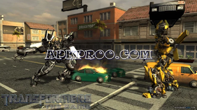 Game Transformers The Game PPSSPP ISO High Compressed For Android