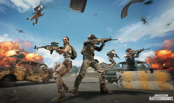 Game PlayerUnknown's BattleGround
