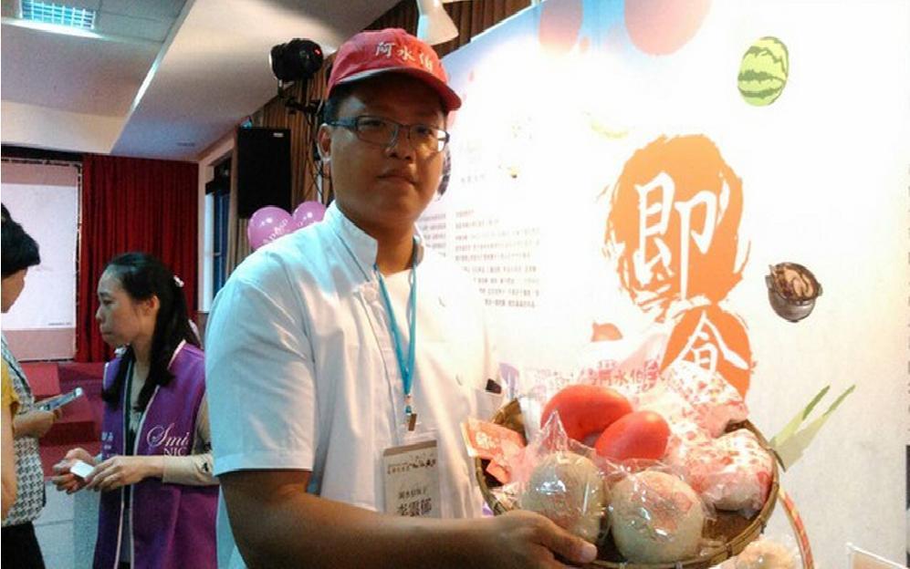 阿水伯包子出席經濟部2015臺灣吃透透記者會-新聞媒體採訪