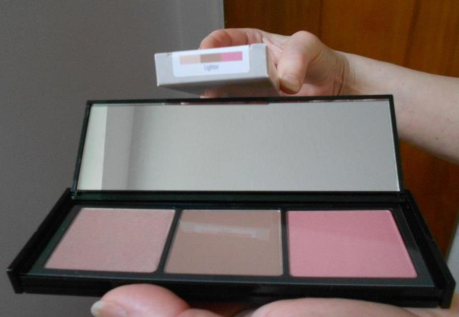 Shimmer Shape & Glow palette Lighter