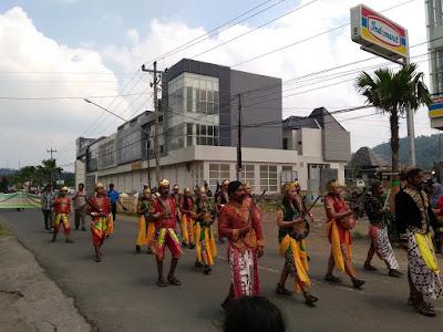 Kirab Budaya HUT 495 Kabupaten Semarang