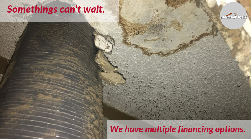 Financing options on roofing repairs in Warner Robins