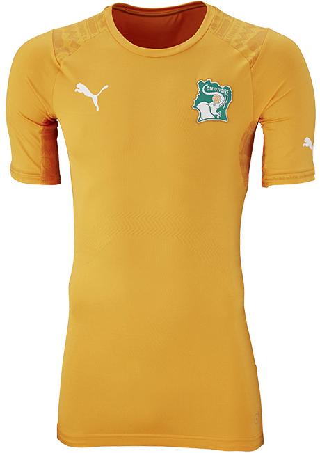 Puma divulga camisas da Costa do Marfim para a Copa do Mundo - Show ... d8884dbeb4956