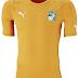 Puma divulga camisas da Costa do Marfim para a Copa do Mundo