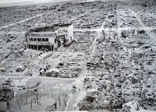 World War II damage to Gifu city
