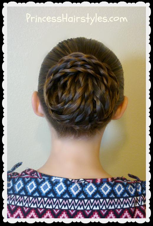 Elegant Textured Updo Easy Hair Tutorial Hairstyles For Girls