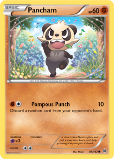Pancham BREAKthrough Pokemon Card