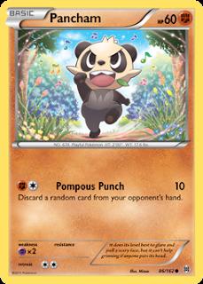 Pancham BREAKthrough Pokemon Card