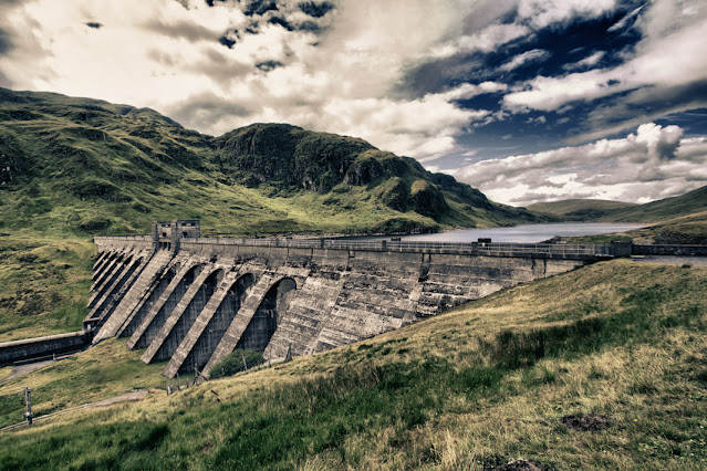 Glen Lyon-diga del Lochan an Lairige