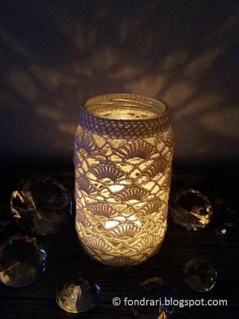 Crochet Jar Cozy